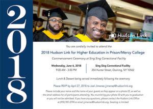 Hudson Link Prepares to Graduate 46 Students at Sing Sing Correctional Facility